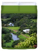 A Hanalei View Duvet Cover