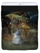 A Haunted Story In Dahlonega Duvet Cover