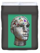 A Head Full Of Shattered Dreams Duvet Cover