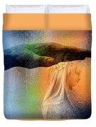 A Healing Hand Duvet Cover