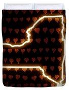 A Heart In New York Duvet Cover