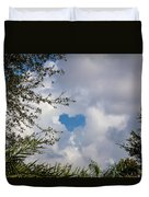 A Heart In The Sky Duvet Cover