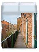 A High Walkway/alleyway Duvet Cover