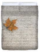 A Hint Of Autumn Duvet Cover