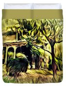 A Home Of Love Duvet Cover