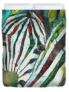A Horse Of A Different Color Duvet Cover