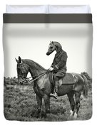 A Horse Ride Duvet Cover