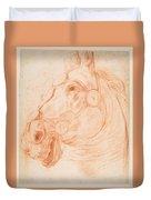 a Horse's Head Duvet Cover