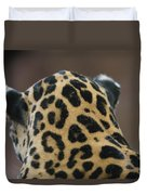 A Jaguar At Omahas Henry Doorly Zoo Duvet Cover