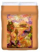 A Joyous Landscape Duvet Cover