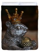 A King For A Day Duvet Cover