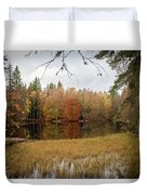 A Lake In England  Duvet Cover