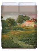 A Landscape In Vicinity Of Strijigorod Duvet Cover