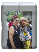 A Laugh In The Park Duvet Cover