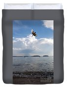 A Leap To Freedom Duvet Cover