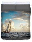 A Life At Sea Duvet Cover