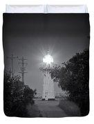 A Light In A Dark Place Duvet Cover