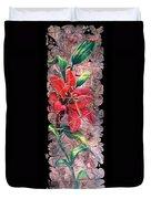 A Lily Fresco Duvet Cover