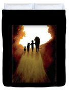 A Little Child Will Lead Them Duvet Cover