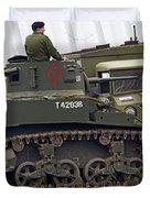 A Little Honey - M3 Stewart Light Tank Duvet Cover