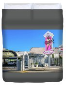 A Little White Chapel From The North 2 To 1 Ratio Duvet Cover