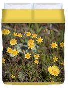 A Little Yellow Duvet Cover