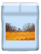A Lonely Windmill Duvet Cover