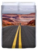 A Long Journey Duvet Cover by Rick Furmanek