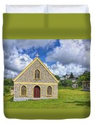 A Lovely Jamaican Church Duvet Cover