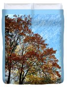 A Magnificent Fall Day Duvet Cover