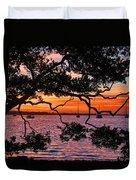 A Mangrove Morning Duvet Cover