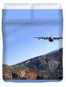 A Mc-130j Combat Shadow II Aircraft Duvet Cover