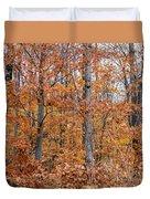 A Mixture Of Orange Duvet Cover