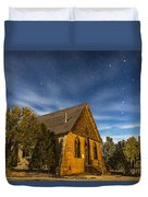 A Moonlit Nightscape Of The Historic Duvet Cover