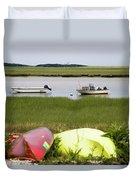 A Nauset Marsh View Duvet Cover