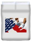 A Naval Station Pearl Harbor Ceremonial Duvet Cover