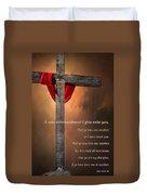 A New Commandment  Duvet Cover