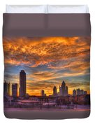 A New Day Atlantic Station Sunrise Duvet Cover