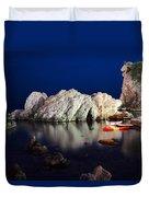 A Night In Croatia Duvet Cover