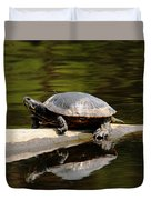 A Painted Reflection Duvet Cover