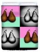 A Pair Of Pears Duvet Cover