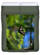 A Pale Swallowtail Vertical Duvet Cover