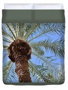 A Palm In The Sky Duvet Cover