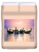 A Pastel Sunset Duvet Cover