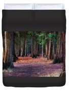 A Path Of Redwoods Duvet Cover