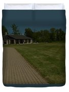A Path To Shelter Duvet Cover by Cim Paddock