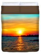 A Path To The Sun Duvet Cover