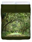A Peaceful Walk Duvet Cover