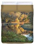 A Peak At Autumn Duvet Cover