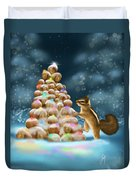 A Perfect Christmas Tree Duvet Cover